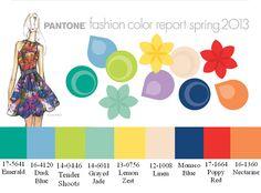 Spring Color Palette | Raslinkina: Trend-report: color of spring-summer 2013