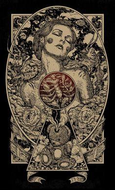 Juxtapoz Magazine – Update: Nikita Kaun's Dreamlike Darkness Art And Illustration, Dark Art Illustrations, Black And White Illustration, Tattoo Drawings, Art Drawings, Tattoos, Realistic Drawings, Magazin Design, Arte Obscura