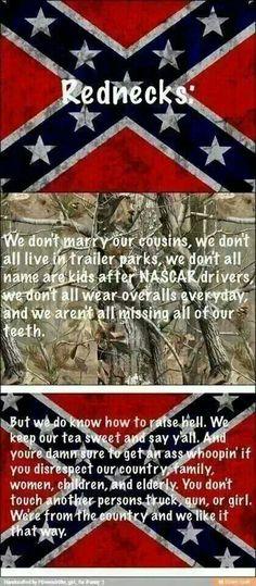 Rednecks.