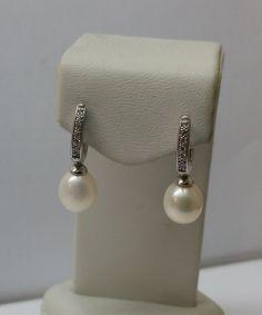 Vintage Ohrhänger - Perlen-Ohrhänger Ohrringe Silber 925 Vintage SO236 - ein Designerstück von Atelier-Regina bei DaWanda