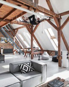 einrichtungsideen-für-Dachgeschosswohnung-die-Vorteile-unterm-Dach-zu-wohnen