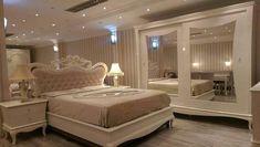 Simple Bedroom Design, Bedroom Closet Design, Bedroom Furniture Design, Teen Room Decor, Bedroom Decor, Luxurious Bedrooms, Living Room Designs, Wall Fabric, Fabric Panels