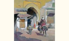 Ruelle à Marrakech von Edouard Edmond Doigneau