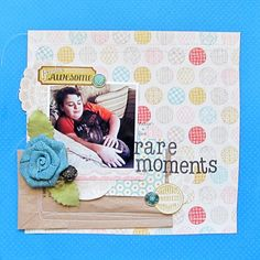 Go-to Embellishing Approaches Make Scrapbooking Easier | Scrapbook Page by Christy Strickler | GetItScrapped.com/blog