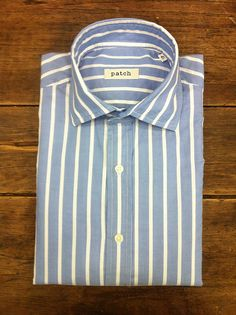 Camisa azul patch  Blue shirt 2012 collection