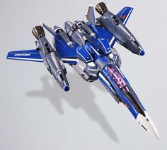 Bandai DX Chogokin Macross F VF-25G Messiah Valkyrie (Michael Blanc) Renewal Ver. Super Parts set featured on Jzool.com
