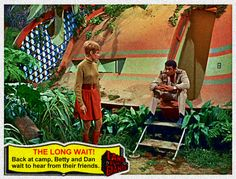 Land of the Giants  - vintage chewing-cum card