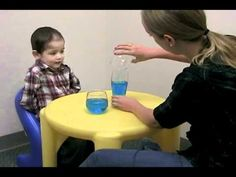 Daniel Brady Pin 2. This video shows the early stages of Piagets cognitive development. The child goes off what he can see to determine how things are in relation to something else.