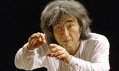 Conductor Seiji Ozawa.