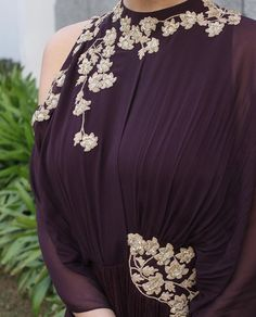 Ridhima Mehra # hand crafted # draped gown #