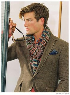 Bruce Weber Photographs Soul Models for Polo Ralph Laurens Fall 2014 Outing image Polo Ralph Lauren Fall Winter 2014 001