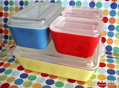 Most loved pyrex that was in my mom's and grandma's kitchen... mine too!