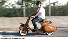 Деревянный скутер Vespa Daniela