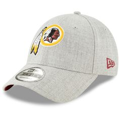 official photos 807a3 46006 Men s Washington Redskins New Era Heathered Gray Snapped 9FORTY Adjustable  Hat, Your Price   21.99