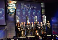 Congratulations to the 2013 NASCAR Hall of Fame Class: Buck Baker, Cotton Owens, Herb Thomas, Leonard Wood, and Rusty Wallace.