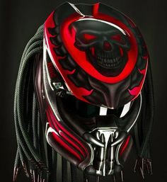 Predator helmets  Basic Helm NHK Certificate DOT, Full Face Surely that's been with the National Indonesia (SNI) Additional accessories such as LED Lamp with on / off switch. »To the...@ artfire