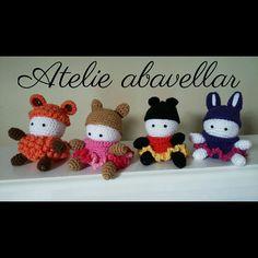 Mini porta joias em croche  feito com fofuras  www.abavellar.blogspot.com