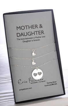 Mother Daughter Gifts.  Celebrate love, family and Mom.  With the perfect gift for Mom, gift for Daughters.  Women and Men find all sweet sentimental gifts at Erin Pelicano!
