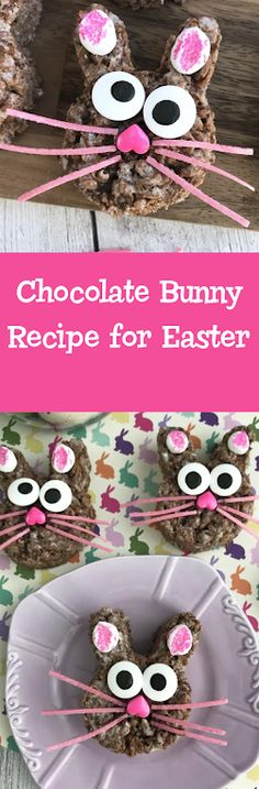 Chocolate Bunny Recipe for Easter!  #EasterRecipes #ChocolateBunny #EasterKidsRecipes #EasterBunnyRecipe #Chocolate #recipes #Easter
