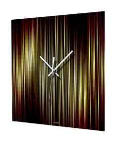 HangTime Lineas Fire Wall Clock at MYHABIT
