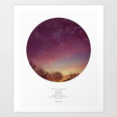 dream dust +  Art Print by Cloud Story + - $18.72