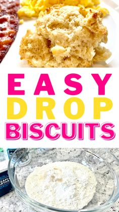 Drop biscuits are quick and easy to make! Try this recipe next time you're craving biscuits but don't have loads of time.