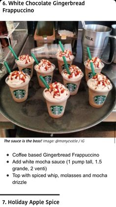 Starbucks Secret Menu Drinks, Starbucks Hacks, Starbucks Coffee, Starbucks Order, Dessert Drinks, Yummy Drinks, Dessert Recipes, Yummy Food, Fun Baking Recipes