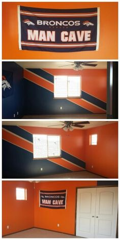 Denver Broncos Man Cave My Husband Has Been Dreaming Of
