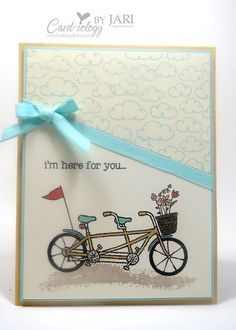 Stampin' Up! Pedal Pusher Encouragement Card