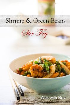 Shrimp and Green Beans Stir Fry