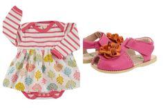 Selección de conjuntos para bebés http://www.minimoda.es