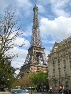 Paris, France...Eiffel Tower.