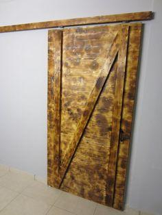Puerta corredera rústica - Trabajo final