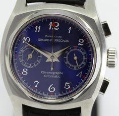 Rare 1960 Vintage Girard Perregaux Ref 2598 Blue Automatic West Japan Limited 50…