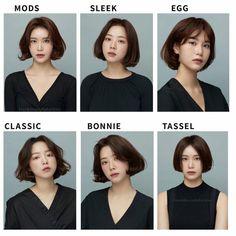 Korean Short Hair, Short Hair Cuts, Hairstyles Haircuts, Pretty Hairstyles, Hair Cut Pic, Clavicut, Medium Hair Styles, Curly Hair Styles, Androgynous Hair