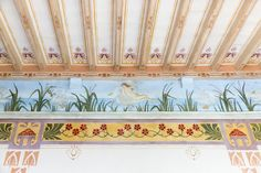 Gorgeous #decorations within a finely restored #villa built in 1780, subject to the constraint of the Superintendent of #Siena