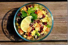 Summer Quinoa Salad | Iowa Girl Eats