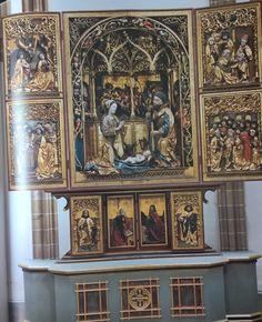 Hochaltar Franziskanerkirche Bozen Südtirol, um 1500, Hans Klockner
