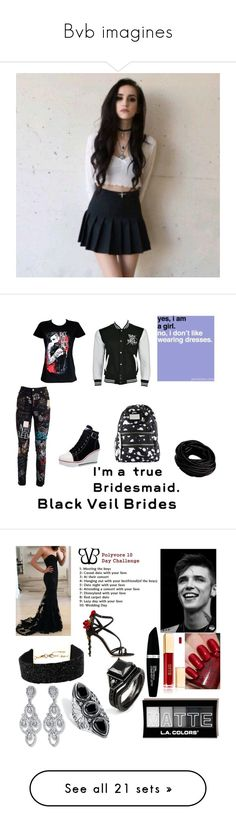 """Bvb imagines"" by bandloverforever12 ❤ liked on Polyvore featuring art, Dolce&Gabbana, Marc by Marc Jacobs, Amrita Singh, Palm Beach Jewelry, Max Factor, River Island, Express, White House Black Market and Jessica Simpson"