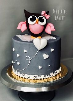 62+ Ideas For Cake Birthday Owl