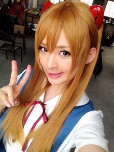 cosplay 新世紀ヱヴァンゲリヲン 式波・アスカ・ラングレー / layer:鈴木咲 saki suzuki