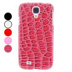 Crocodile grain Pattern Hard Case for Samsung Galaxy S4 I9500 - USD $ 3.99