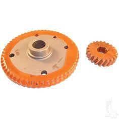 High Speed Gear, 8:1 Ratio, Large Bearing, O.D. 1.575, EZGO Gas 88-97