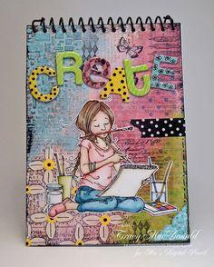 Auf iwannabuildamemory.blogspot.com http://www.pinterest.com/theloves/art-journal-ideas/