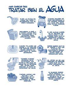 Consejos para tratar bien el agua