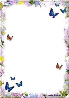 .jjjk Printable Lined Paper, Free Printable Stationery, Boarder Designs, Page Borders Design, Borders For Paper, Borders And Frames, Frame Background, Stationery Paper, Note Paper