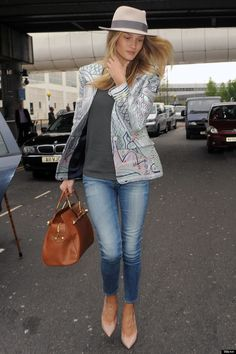 Rosie Huntington whiteley style - Google Search