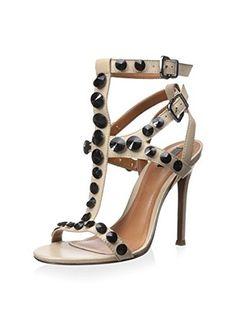 Schutz Women's Fearne Sandal (Oyster)