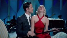 """From """"Lady Gaga & The Muppets' Holiday Spectacular"""" Joseph Gordon-Levitt joins Lady Gaga to perform Frank Loesser's Christmas song """"Baby It's Cold Outside"""" I Love Music, Sound Of Music, Kinds Of Music, Music Is Life, Joseph Gordon Levitt, Lady Gaga, Christmas Tunes, Christmas Carol, Christmas Cover"""