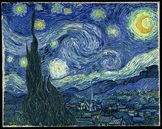 Histoire des arts de Rombas: La nuit étoilée, Vincent Van Gogh